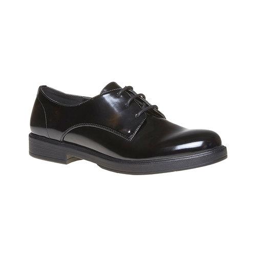 Scarpe basse da donna verniciate bata, nero, 521-6291 - 13