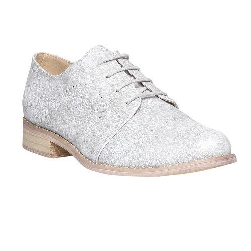 Scarpe basse da donna bata, grigio, 521-2477 - 13