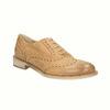 Scarpe di pelle in stile Oxford con decorazioni Brogue bata, marrone, 524-3482 - 13