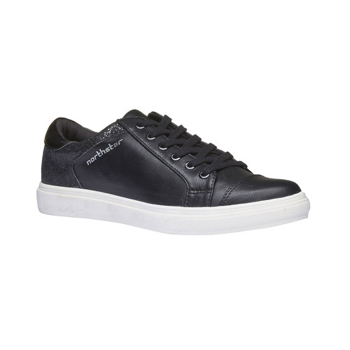 Sneakers da donna north-star, nero, 541-6253 - 13