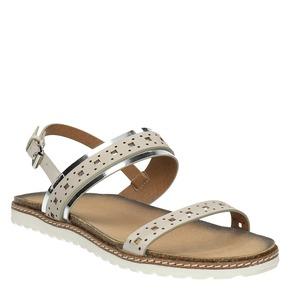 Sandali da donna bata, beige, 561-8294 - 13