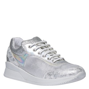 Sneakers metallizzate north-star, bianco, 549-1232 - 13