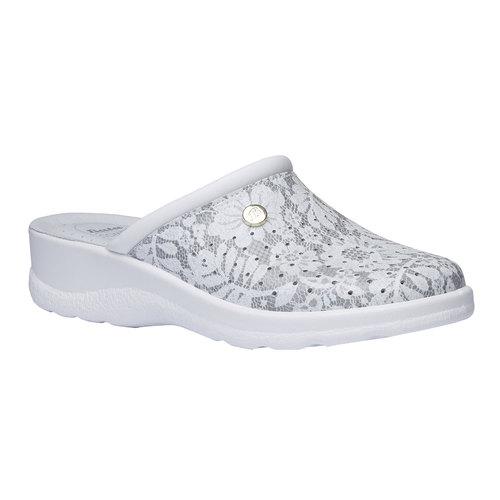 Pantofole da donna, grigio, 574-2254 - 13