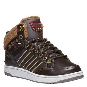 Sneakers alla caviglia con fodera calda adidas, marrone, 801-4100 - 13