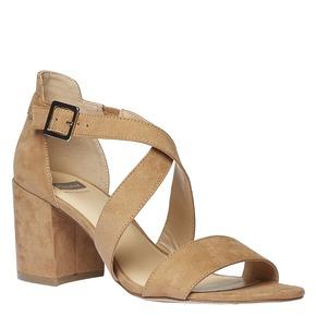Sandali da donna bata, beige, 769-8317 - 13
