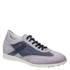 Sneakers informali da uomo flexible, blu, 826-9638 - 13