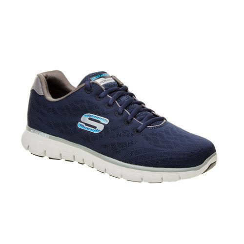 Sneakers sportive da uomo skechers, blu, 809-9979 - 13