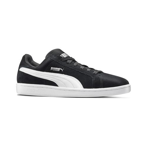 Sneakers da uomo in pelle puma, nero, 803-6312 - 13
