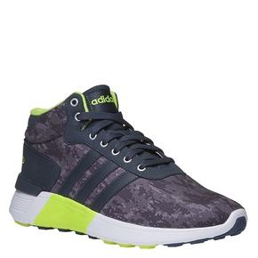 Sneakers da uomo alla caviglia adidas, grigio, 809-2128 - 13