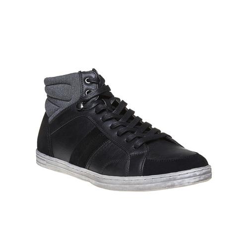 Sneakers informali alla caviglia bata, nero, 841-6694 - 13