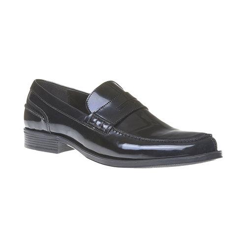 Scarpe da uomo in stile Penny Loafers bata, nero, 811-6150 - 13