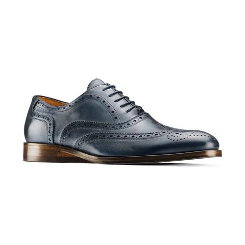 Oxford di pelle bata-the-shoemaker, blu, 824-9594 - 13