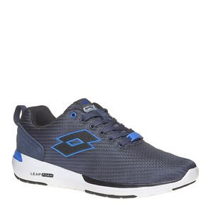 Sneakers sportive di colore blu lotto, blu, 809-9152 - 13