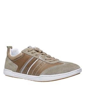 Sneakers informali da uomo bata, giallo, 841-8633 - 13