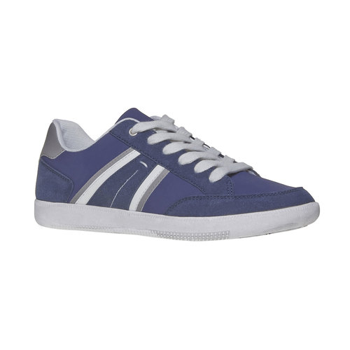 Sneakers informali da uomo bata, blu, 841-9655 - 13