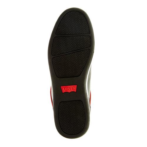 Sneakers da uomo levis, nero, 841-6551 - 26