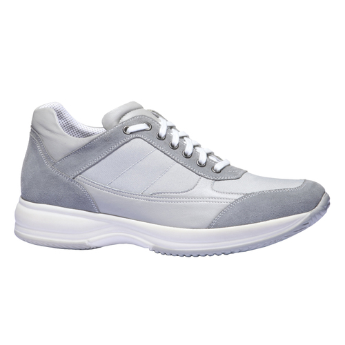 Sneakers per il tempo libero bata, grigio, 849-2144 - 13