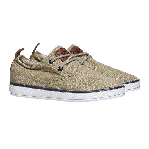 Sneakers informali da bambino mini-b, giallo, 319-8200 - 26
