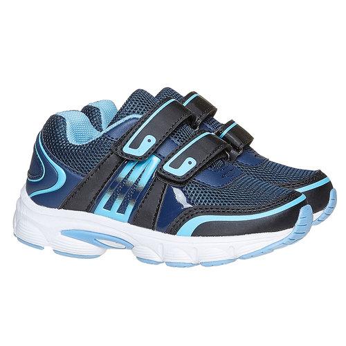 Sneakers da bambino con chiusure a velcro mini-b, blu, 219-9167 - 26