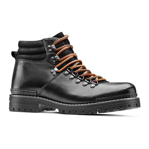 Scarpe in pelle con lacci originali bata, nero, 894-6180 - 13