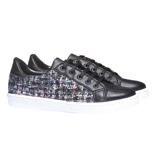 Sneakers informali north-star, nero, 541-6185 - 26