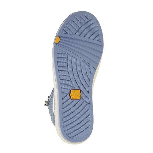 Sneakers da bambino alla caviglia flexible, blu, 311-9194 - 26