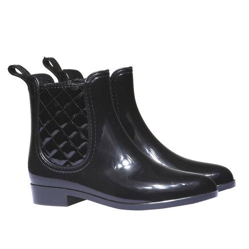 Scarpe da donna alla caviglia bata, nero, 592-6590 - 26