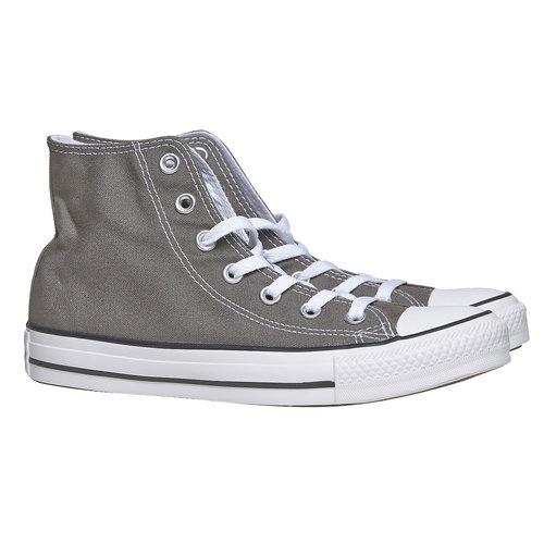 Sneakers da donna alla caviglia converse, grigio, 589-2278 - 26