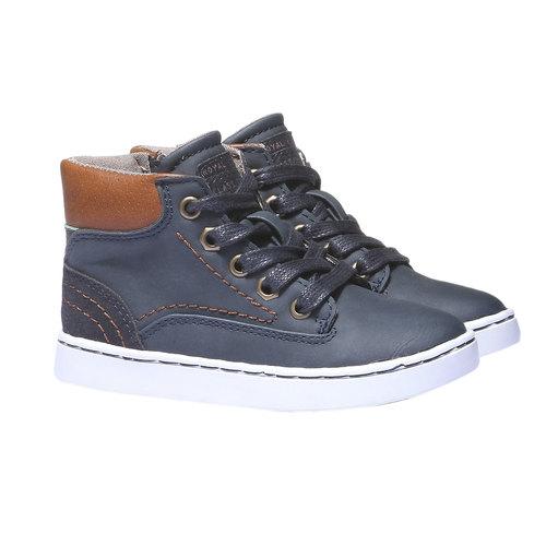 Sneakers da bambino alla caviglia mini-b, viola, 211-9124 - 26