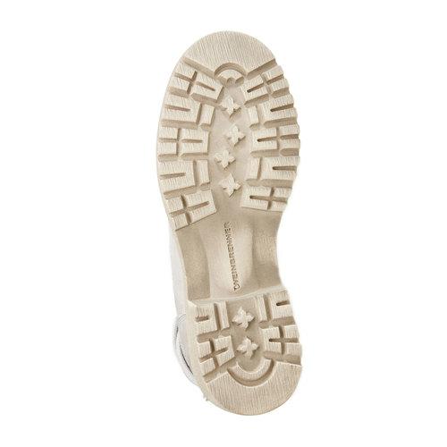 scarponcino di pelle alla caviglia weinbrenner, grigio, 594-2138 - 26