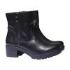 Scarpe da donna alla caviglia bata, nero, 691-6138 - 26