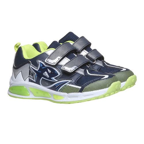 Sneakers da bambino con velcro mini-b, viola, 211-9155 - 26