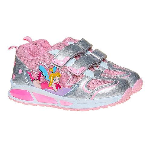 Sneakers argentate da ragazza mini-b, argento, 221-2177 - 26
