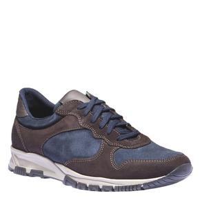 Sneakers di pelle bata, viola, 843-9449 - 13