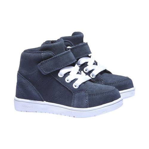 Sneakers da bambino in pelle mini-b, viola, 213-9134 - 26