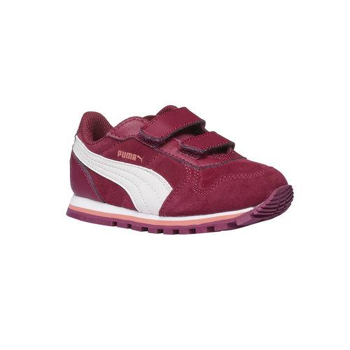 Scarpe sportive bambino puma, rosso, 103-5182 - 13