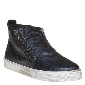 Scarpe da donna metallizzate alla caviglia north-star, blu, 541-9264 - 13