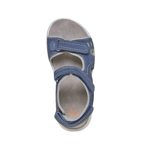 Sandali da bambino flexible, blu, 363-9188 - 19