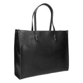 Borsetta quadrata in stile Shopper bata, nero, 961-6736 - 13