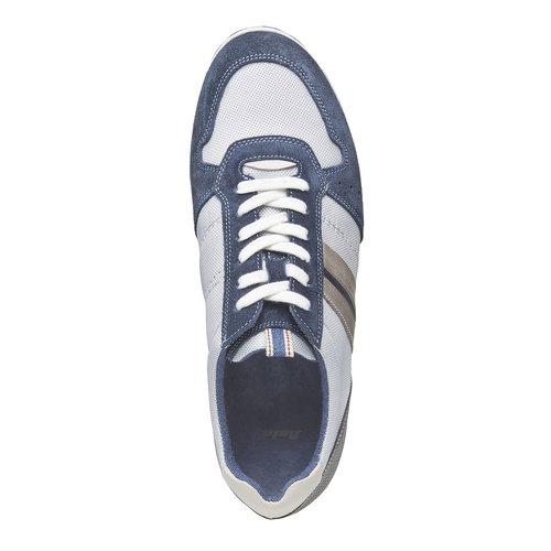 Sneakers informali da uomo bata, grigio, 849-2636 - 19