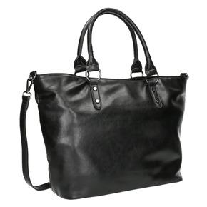 Borsetta nera da donna bata, nero, 961-6857 - 13