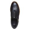 Scarpe basse di pelle con flatform bata, nero, 524-6255 - 19