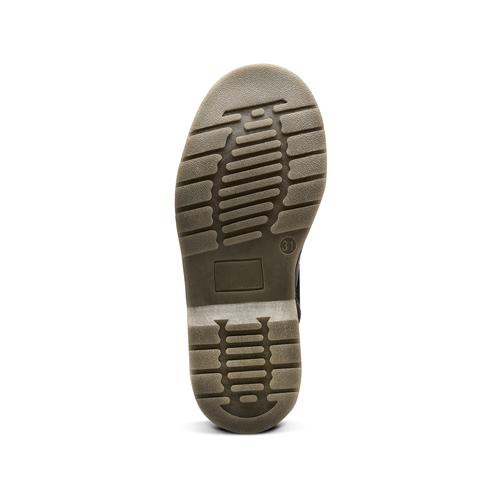 Scarpe alla caviglia con suola massiccia mini-b, nero, 391-6259 - 19