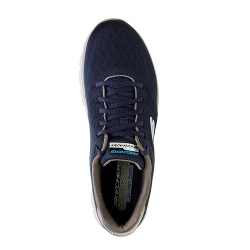 Sneakers sportive da uomo skechers, blu, 809-9979 - 19