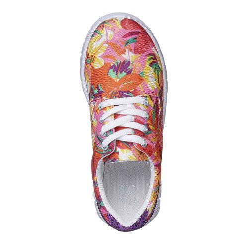 Sneakers con motivo floreale mini-b, rosa, 329-0200 - 19