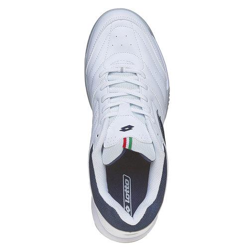 Sneakers sportive bianche lotto, bianco, 801-1148 - 19
