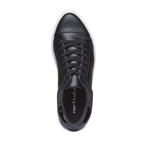 Sneakers da donna north-star, nero, 541-6253 - 19