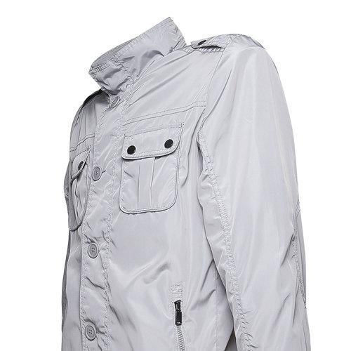 Giacca da uomo con bottoni bata, grigio, 979-2566 - 16