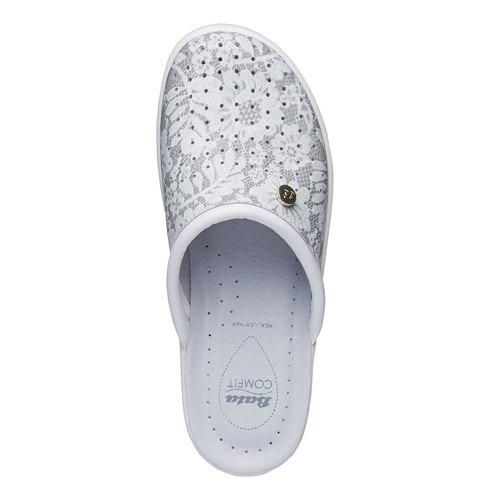 Pantofole da donna, grigio, 574-2254 - 19