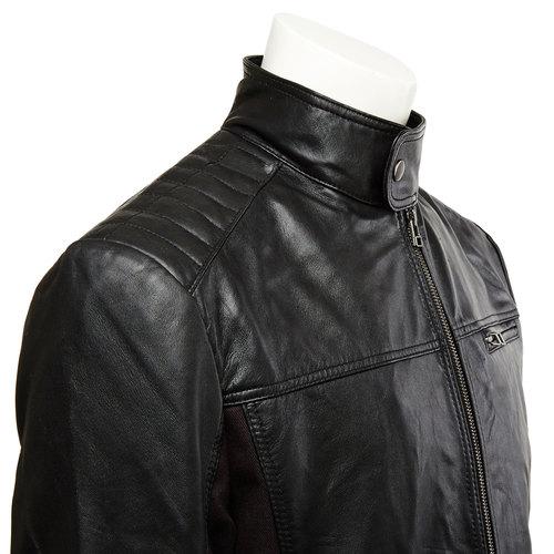 giacca in pelle da uomo bata, nero, 974-6148 - 16